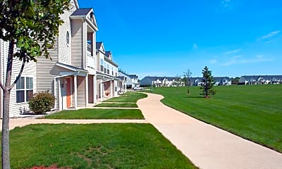 Landscaping, Townsend On The Park Apartments, 2