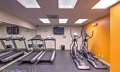 Fitness Weight Room, 4616 Lindell Blvd. Carleton, 2