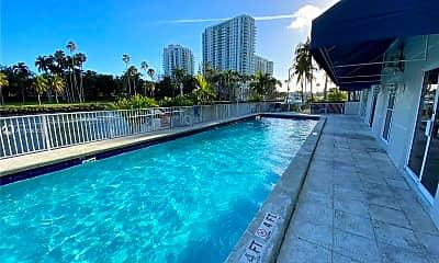 Pool, 1720 NW N River Dr 413, 2
