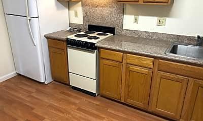 Kitchen, 435 South 6th Street, Unit 4, 2