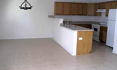Kitchen, Three Angels Apartments, 1