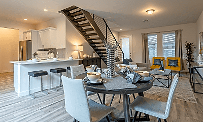 Dining Room, Park Central Luxury Townhomes, 0