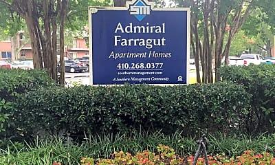 Admiral Farragut Apartments, 1