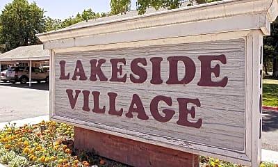 Community Signage, Lakeside Village, 2