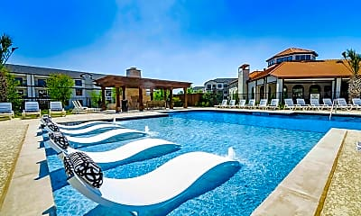 Pool, The Mansions at Spring Creek, 1