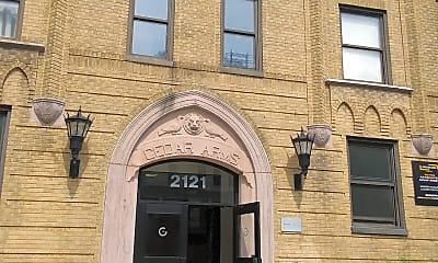 Cedar Arms Apartments, 1