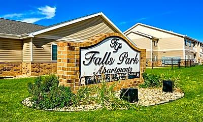 Community Signage, Falls Park, 0