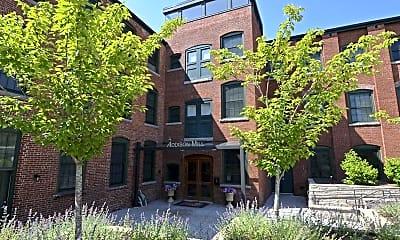 Building, Addison Mill Loft Apartments, 0