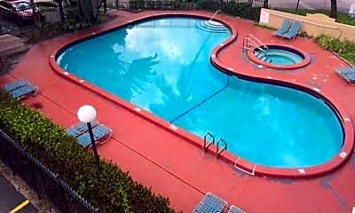 Pool, Hawaiian Palms, 2