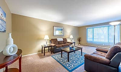 Living Room, Stanley Court Apartments, 2