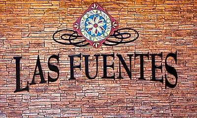 Community Signage, Las Fuentes, 1