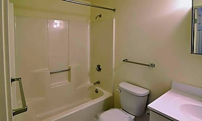 Bathroom, Riverboat Village, 2