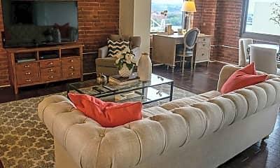 Living Room, Aria Cultural District Lofts, 0