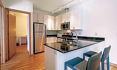 Kitchen, 7 West Apartments, 1