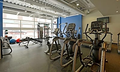Fitness Weight Room, 1237 West, 2