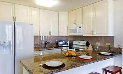 Kitchen, 411 Hobron Ln 2814, 1