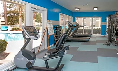 Fitness Weight Room, Park Place, 1