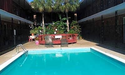 Cabana Courtyard Apartments, 1