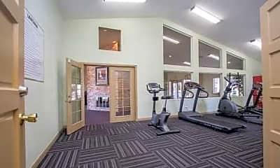 Fitness Weight Room, Lantana Apartment Homes, 2