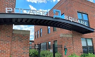 Pulaski Square, 1