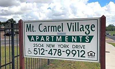 Mt. Carmel Village, 1