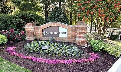 Community Signage, Campus Edge, 2