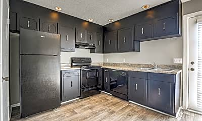 Kitchen, Country Oaks Apartments, 1