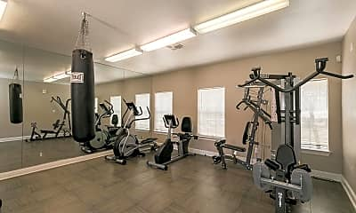 Fitness Weight Room, Tiffany Square, 2
