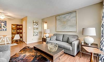 Living Room, Parks at Addison, 1