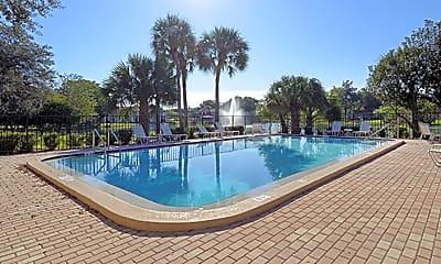 Pool, University Lake Apartments, 0