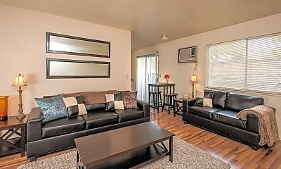 Living Room, The Social Chico Cottages, 0