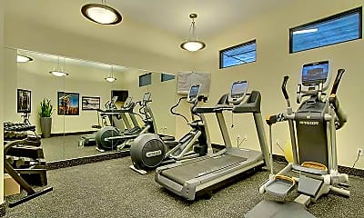 Fitness Weight Room, Compass, 2