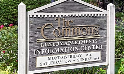 Community Signage, The Commons, 2