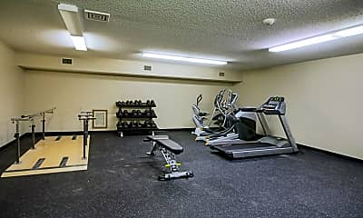 Fitness Weight Room, Dellwood Estates, 2