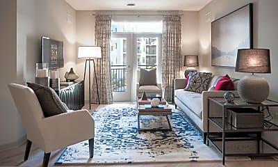 Living Room, 301 Village Drive, 1