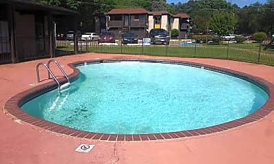 Pool, Hillside Village Apartments, 2