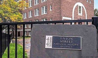 Community Signage, 160 Union St, 1