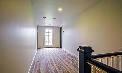Foyer, Entryway, The Townhouse, 2