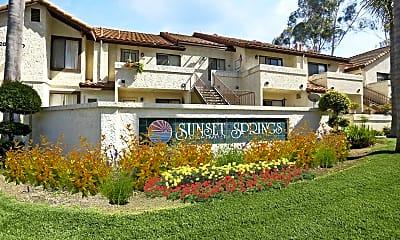 Community Signage, Sunset Springs, 0