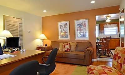 Living Room, Brookview Manor Apartments, LLC, 1