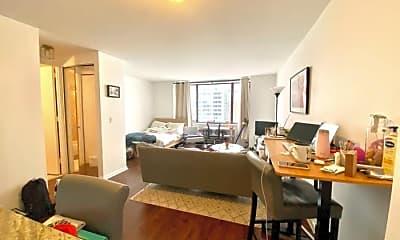 Living Room, 30 W 61st St, 1