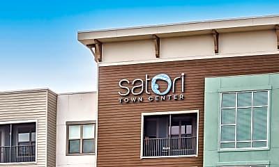 Community Signage, Satori Town Center, 2