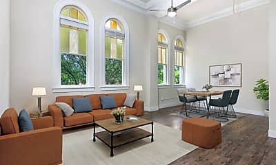 Living Room, 222 E Mitchell St, 1