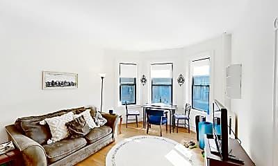Living Room, 1340 Commonwealth Avenue, Unit 11, 0