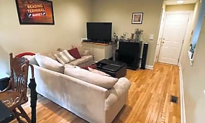 Living Room, 1611 Wallace St, 1