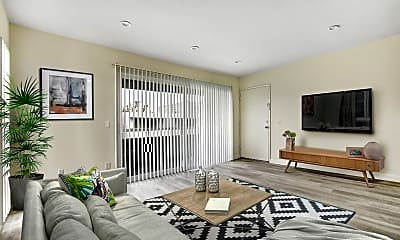 Living Room, Blue North, 0