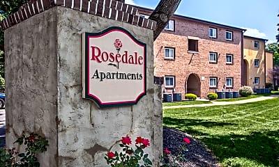 Community Signage, Rosedale Apartments, 2