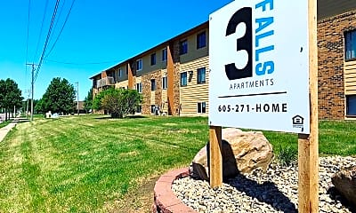 Community Signage, 3600 and 3610 E 6th Street, 1
