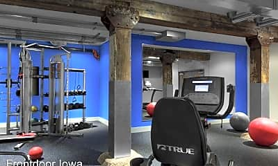 Fitness Weight Room, 427 Pershing Ave. Market Lofts, 2