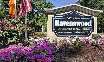 Community Signage, Ravenswood Townhouses and Apartments, 0